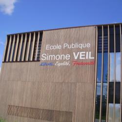 Ecole Primaire Simone Veil, commune de bourgoin - Réalisation + Fabrication + Pose