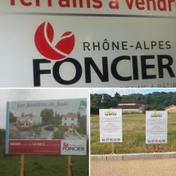 Rhône Alpes Foncier - Fabrication + pose