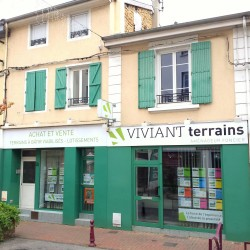 Viviant Terrains - Fabrication enseigne + pose