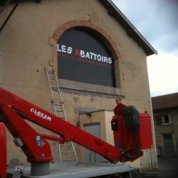 Les abatoirs de Bourgoin Jallieu - Fabrication + pose