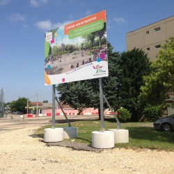 Mairie de Bourgoin - Fabrication + Pose